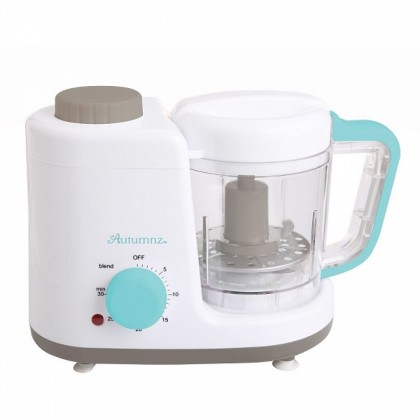 Autumnz - 2-in-1 Baby Food Processor (Steam & Blend)- Turquoise