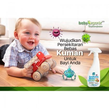 Baby Organix Naturally Kinder Sanitising Water 400ml
