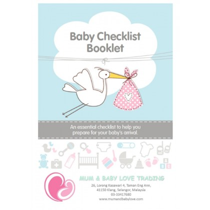 Pregnancy Essential Checklist Booklet