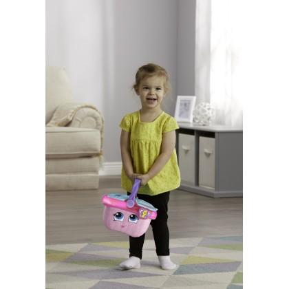 LeapFrog Shapes & Sharing Picnic Basket Pink (6 Months+)