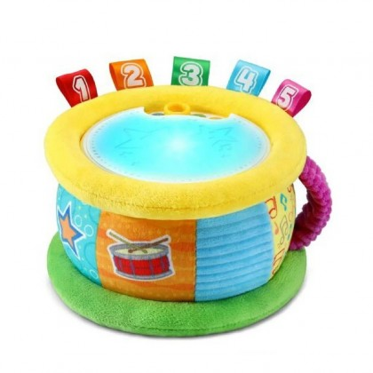 LeapFrog Learn & Groove Thumpin' Numbers Drum (6 Months+) - English & Spanish