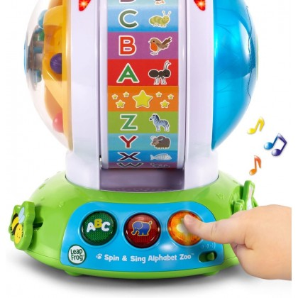 LeapFrog Spin & Sing Alphabet Zoo (6 Months+) - An exciting spin on the ABCs!