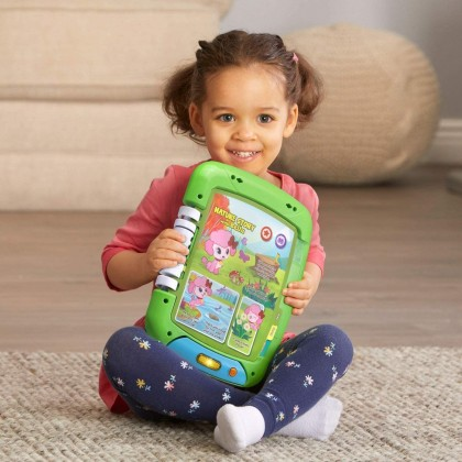 LeapFrog 2 in 1 Touch & Learn Tablet (2 Years+) - 2 Sides to Play & Learn