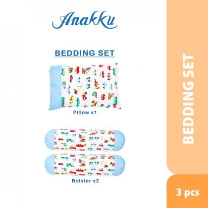 Anakku 3 in 1 Pillow & Bolsters Set (Car)