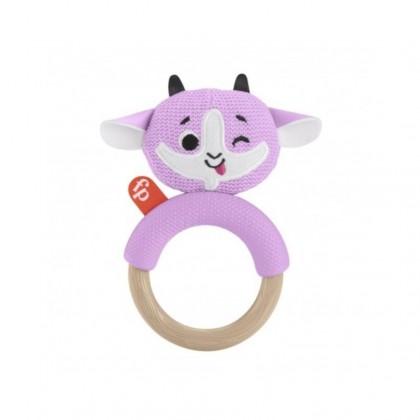 Fisher Price Knit Teether (3 months+) Bear / Goat / Koala 1pc