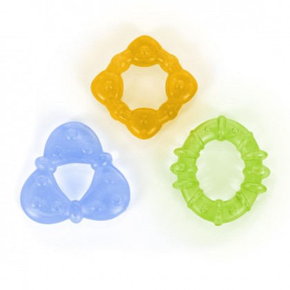 Bright Starts Chill & Teethe (3 months+) - 3pcs Teether