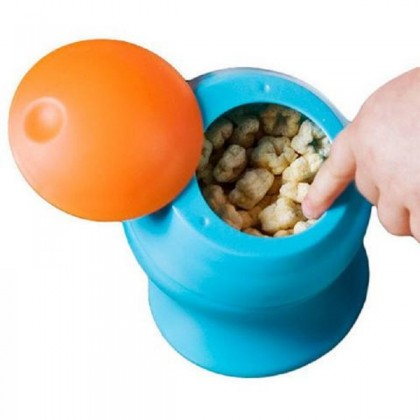 Boon Snack Container 8oz / 236ml (9 Months+) Blue