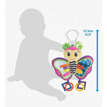 Playgro Activity Friend Blossom Butterfly - Teether / Hanging Toy (0 Months+)