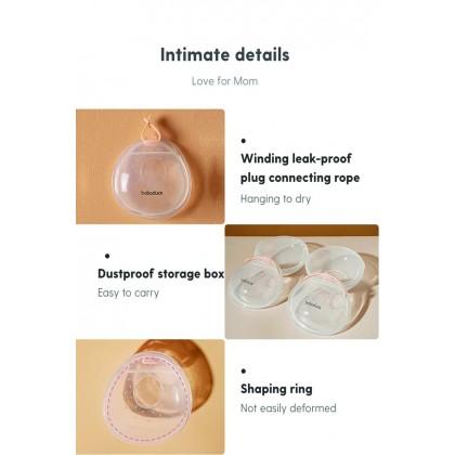 boboduck 2pcs 3 in 1 Wearable Breast Milk Collector / Nipple Shield / Breast Pad