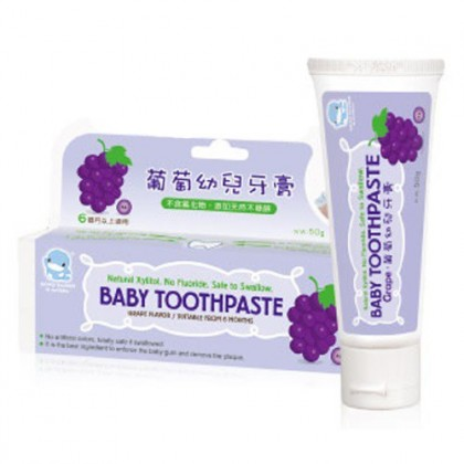 KUKU Baby Toothpaste (All Fruit/ Grape/ Strawberry) 6 months+  50g